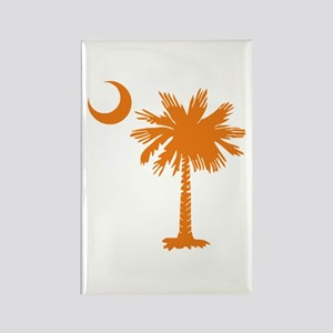 SC Palmetto & Crescent (O) Rectangle Magnet