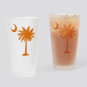 SC Palmetto & Crescent (O) Drinking Glass