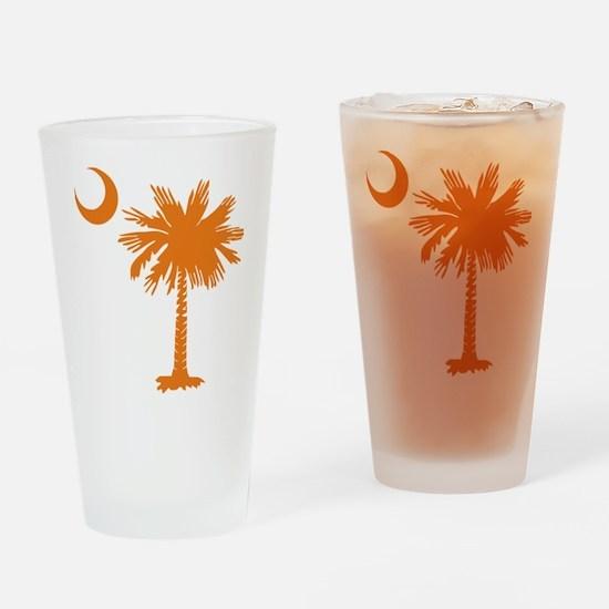 SC Palmetto & Crescent (O) Drinking Glass