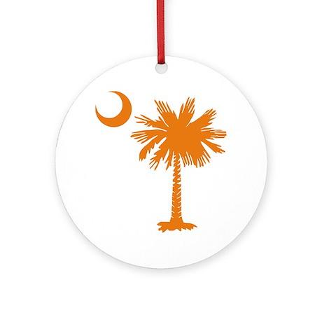 SC Palmetto & Crescent (O) Ornament (Round)