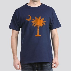SC Palmetto & Crescent (O) Dark T-Shirt