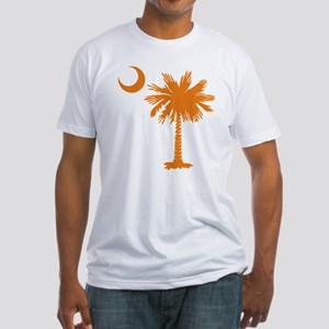 SC Palmetto & Crescent (O) Fitted T-Shirt