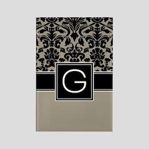 Monogram Letter G Gifts Rectangle Magnet