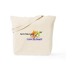 I Love This Beach Tote Bag