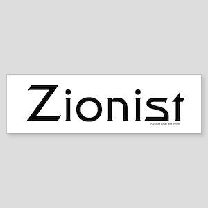 Zionist Bumper Sticker