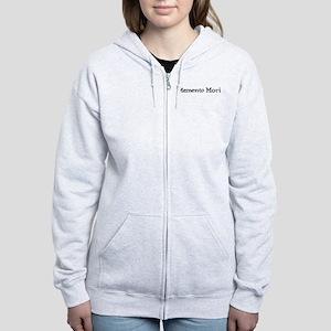 Memento Mori Women's Zip Hoodie