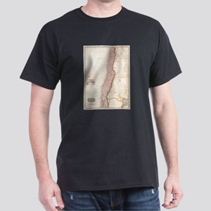 Vintage Map of Chile (1818) T-Shirt