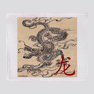 CHINESE DRAGON Throw Blanket