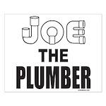 JOE THE PLUMBER Small Poster