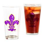 FLEUR DE LI Drinking Glass
