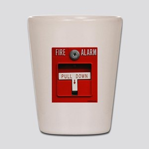 FIRE ALARM Shot Glass