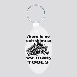 HANDY MAN/MR. FIX IT Aluminum Oval Keychain