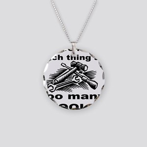 HANDY MAN/MR. FIX IT Necklace Circle Charm