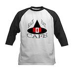 Black Hat Cafe Kids Baseball Jersey