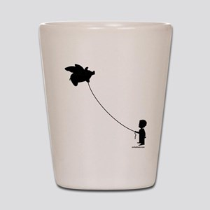 WHEN PIGS FLY Shot Glass