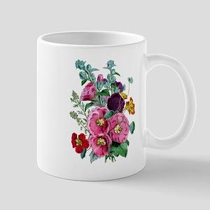 Hollyhocks Mug