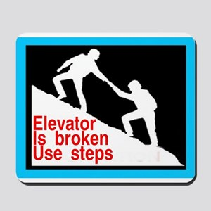 12 STEP STUFF Mousepad