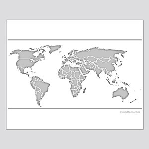 GEOGRAPHY/WORLD MAP Small Poster