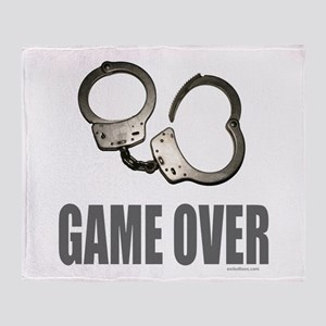 HANDCUFFS/POLICE Throw Blanket