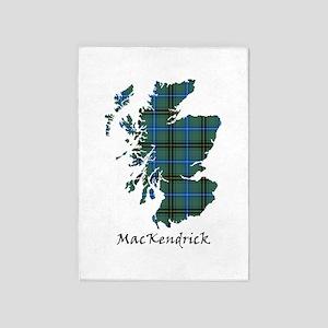 Map - MacKendrick 5'x7'Area Rug