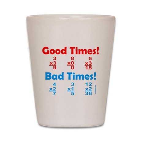 MATH/MATHEMATICS Shot Glass