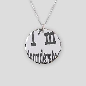 I'M MISUNDERSTOOD Necklace Circle Charm
