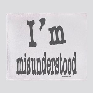 I'M MISUNDERSTOOD Throw Blanket