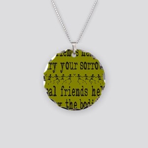 REAL FRIENDS/FRIENDS Necklace Circle Charm