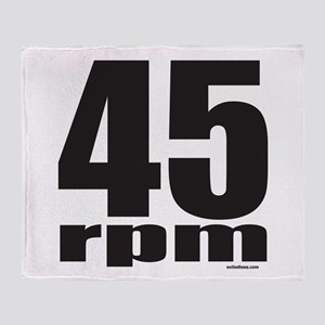 45 RPM Throw Blanket