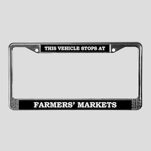 Farmer's Market License Plate Frame