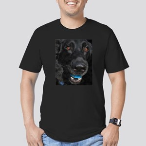 Let's Play - Black German She Men's Fitted T-Shirt