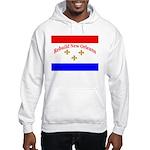 Rebuild New Orleans Flag Hooded Sweatshirt