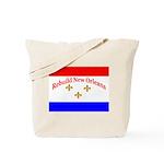 Rebuild New Orleans Flag Tote Bag