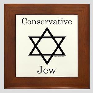 Conservative Jew Framed Tile