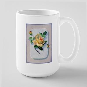 Yellow Rose Large Mug