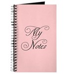 My Notes in Pink Journal