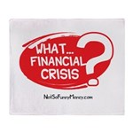 What Financial Crisis Throw Blanket