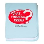 What Financial Crisis baby blanket
