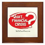What Financial Crisis Framed Tile