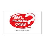 What Financial Crisis 22x14 Wall Peel