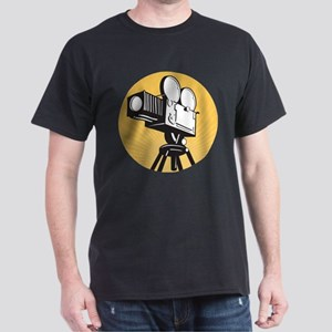 vintage movie camera Dark T-Shirt