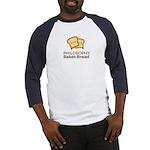 Philosophy Bakes Bread - Logo Baseball Jersey