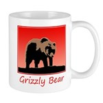 Sunset Grizzly Bear 11 oz Ceramic Mug
