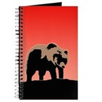 Sunset Grizzly Bear Journal
