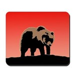 Sunset Grizzly Bear Mousepad