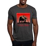 Sunset Grizzly Bear Dark T-Shirt