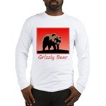 Sunset Grizzly Bear Long Sleeve T-Shirt