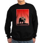 Sunset Grizzly Bear Sweatshirt (dark)