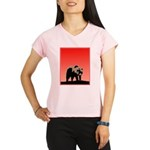 Sunset Grizzly Bear Performance Dry T-Shirt