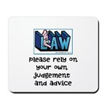 Commercial Lawyer's Mousepad